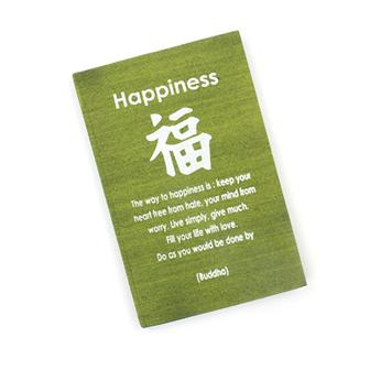 Happiness Affirmation Notebook