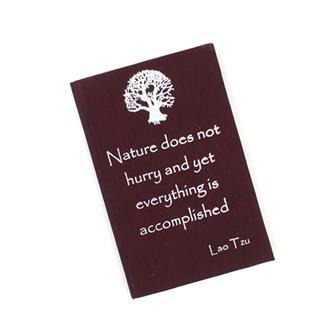 Tao Affirmation Notebook
