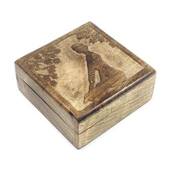 Meditation Mango Wood Box