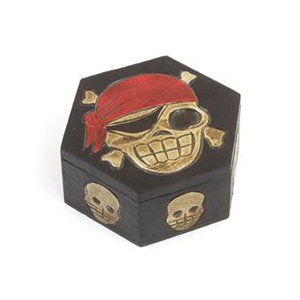 Hexagonal Skull Box