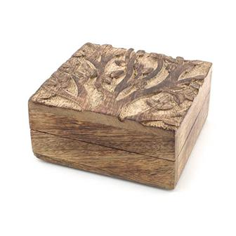 Tree Square Box