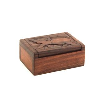 Small Carved Animal Box