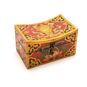 Tibetan Style Short Curved Box