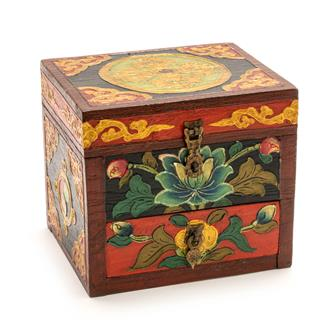 Tibetan Style Box with Drawer