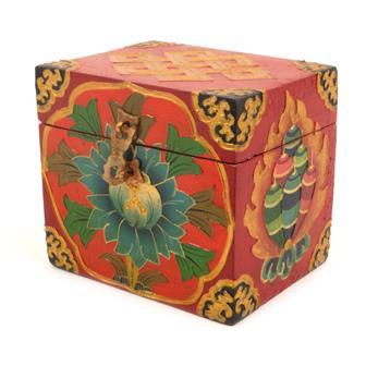 Square Small Tibetan Style Box