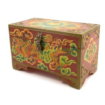 Rectangular Medium Tibetan Style Box