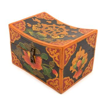 Small Curved Tibetan Style Box