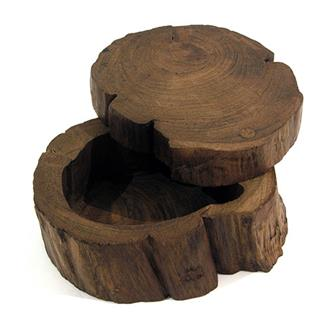 Log Box With Sliding Lid