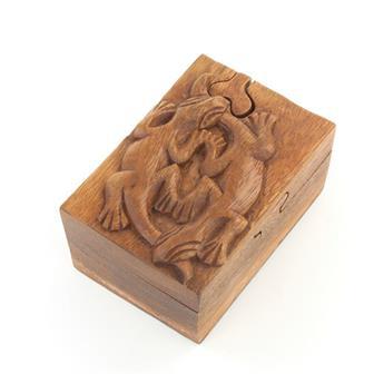 Gecko Puzzle Box