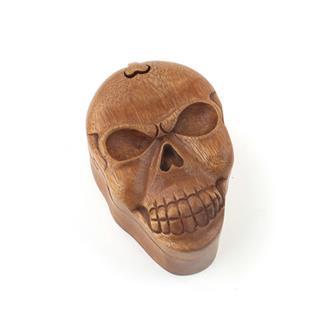 Skull Puzzle Box