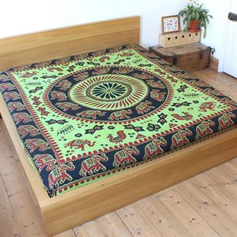 'Traditional' Elephant Bedspread