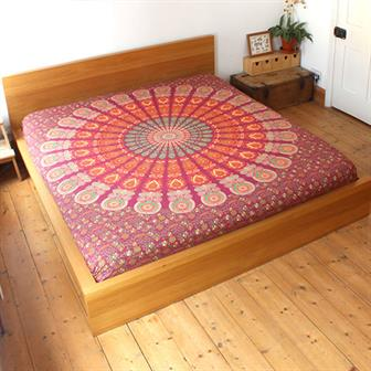 Mirchi Kali Bedspread Arun