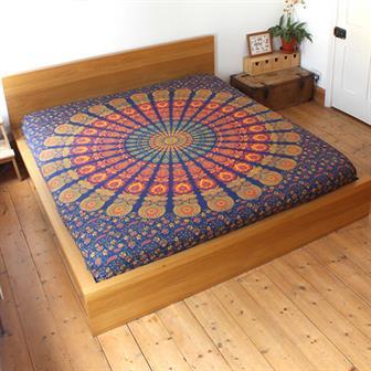Mirchi Kali Bedspread Brahma