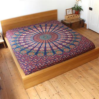 Mirchi Kali Bedspread Chandra