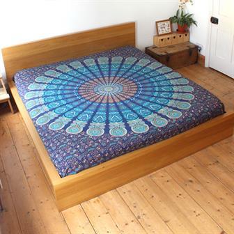 Mirchi Kali Bedspread Devi