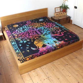Elephant Tree Bedspread
