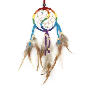 Rainbow Yin Yang Dreamcatcher