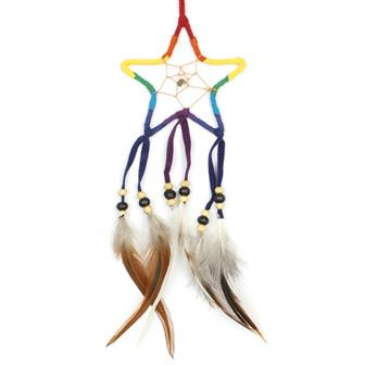 Rainbow Star Dreamcatcher