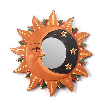 Medium Sun and Moon Mirror