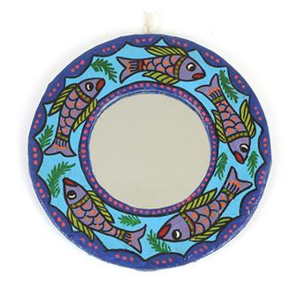 Mithila Round Mirror