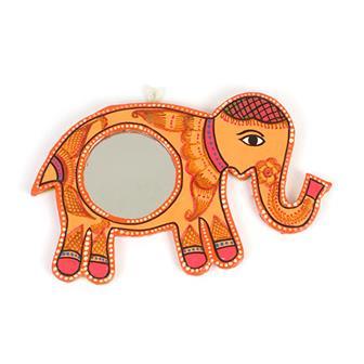Mithila Elephant Mirror
