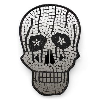 Skull Mosaic Mirror