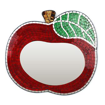 Apple Mosaic Mirror