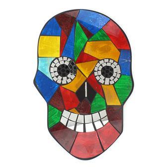 Bright Skull Mosaic