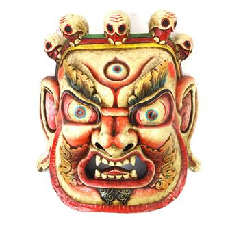 Large Artisan Bhairab Mask No.87
