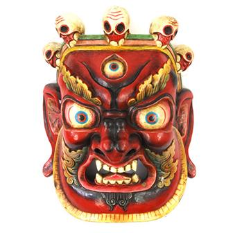 Large Artisan Bhairab Mask No.86