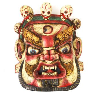 Large Artisan Bhairab Mask No.85