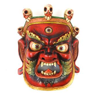 Large Artisan Bhairab Mask No.84