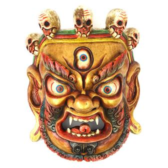 Large Artisan Bhairab Mask No.83