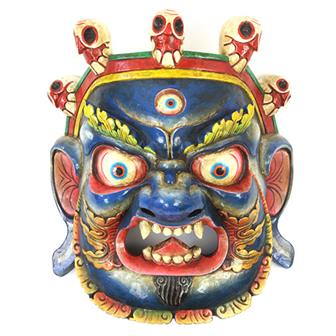 Large Artisan Bhairab Mask No.79