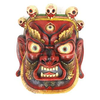 Large Artisan Bhairab Mask No.78