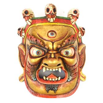 Large Artisan Bhairab Mask No.77