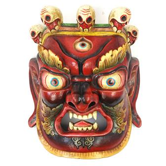 Large Artisan Bhairab Mask No.75