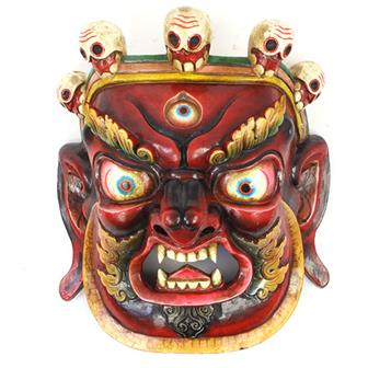 Large Artisan Bhairab Mask No.74