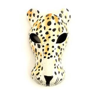 Leopard Mask 15cm