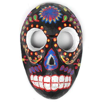 Candy Skull Mask - Liquorice