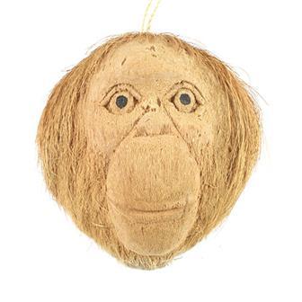 Coconut Monkey Mask