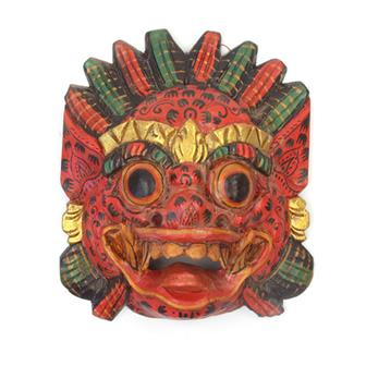 Small Patterned Raksassa Mask