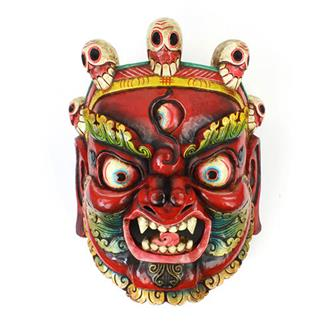 Large Artisan Bhairab Mask No.67
