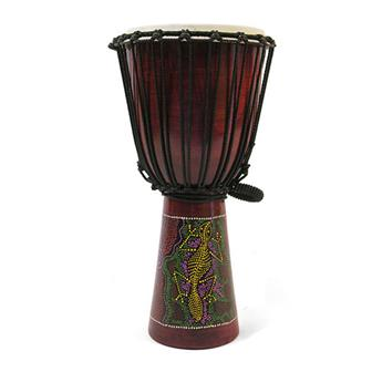 XL Painted Djembe