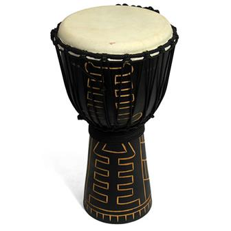 Alt Large Carved Djembe
