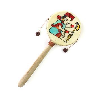 Mayan Style Hand Drum