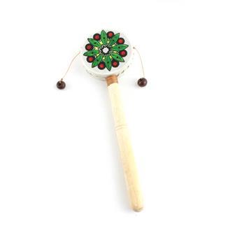 Mini Mandala Style Hand Drum