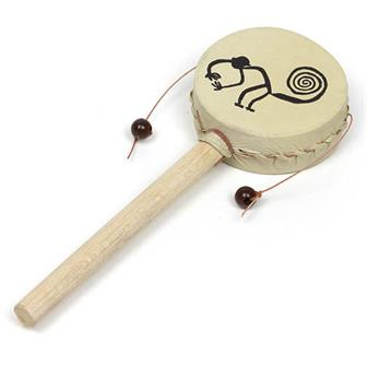 Nazca Design Hand Drum Small