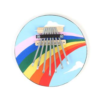 Rainbow Design Thumb Piano