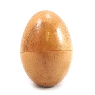 Wooden Egg Shaker